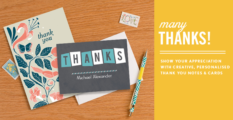 Photo Thank You Cards Simply to Impress