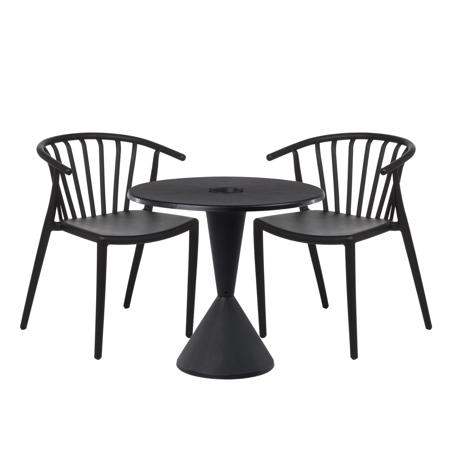 Table 2 Chaises Lot De 2 Chaises Ivor Table Dhar