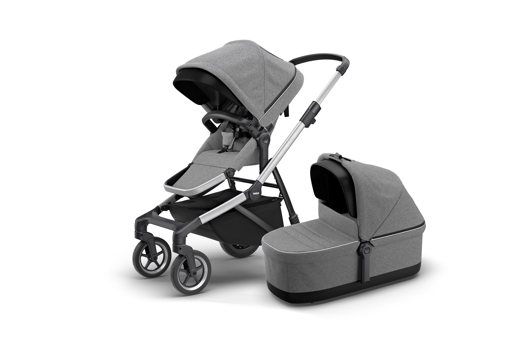 Kinderwagen Tweeling Maxi Cosi Thule Sleek Thule Sleek Bassinet