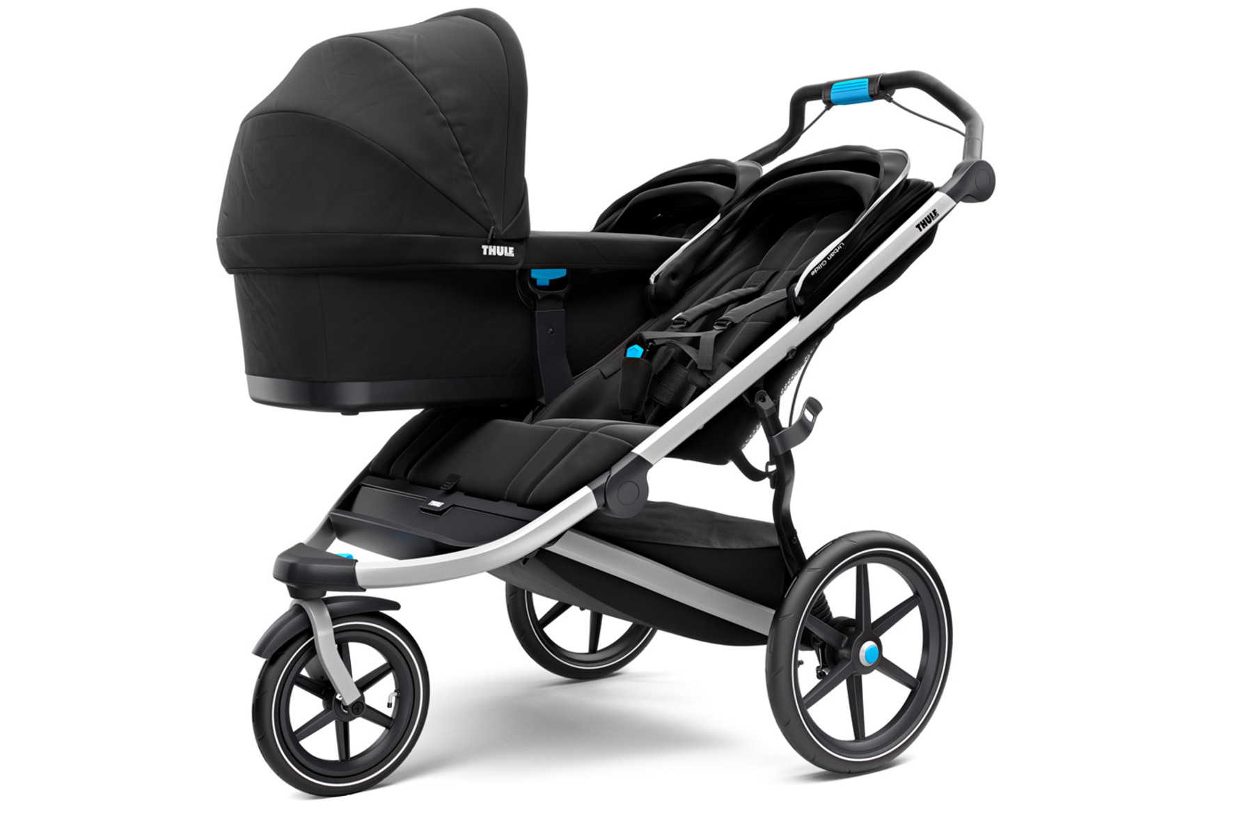 Doppel Kinderwagen Urban Jungle Thule Urban Glide 2 Double