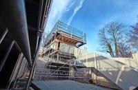 Leonberg: Ein wahrlich heier Blick aufs neue Rathaus ...