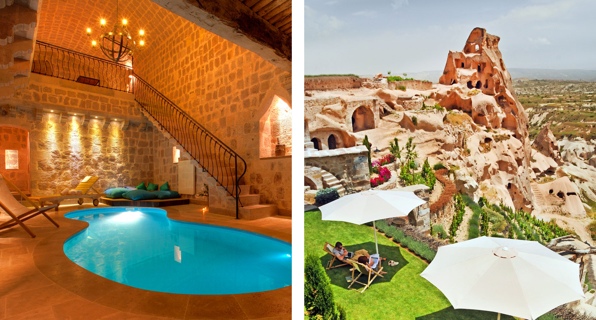 Jacuzzi Pool Argos Cave Hotels Of Cappadocia Turkey Travel Guides The Agenda By