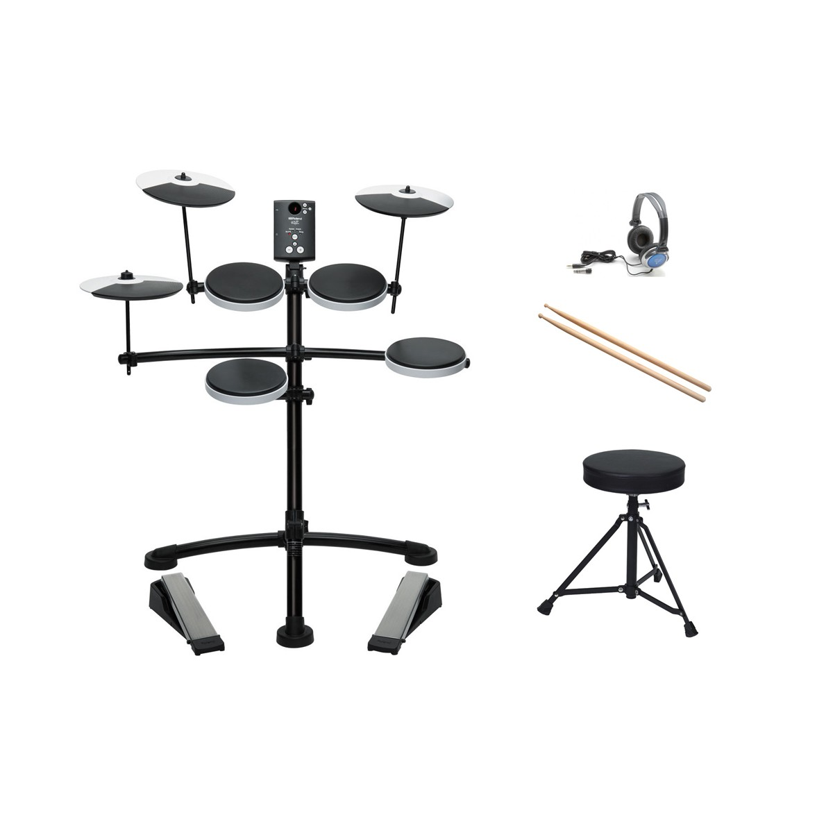 Alfombra Bateria Electronica Roland Td 1k Bateria Electronica Pack Comprar Online