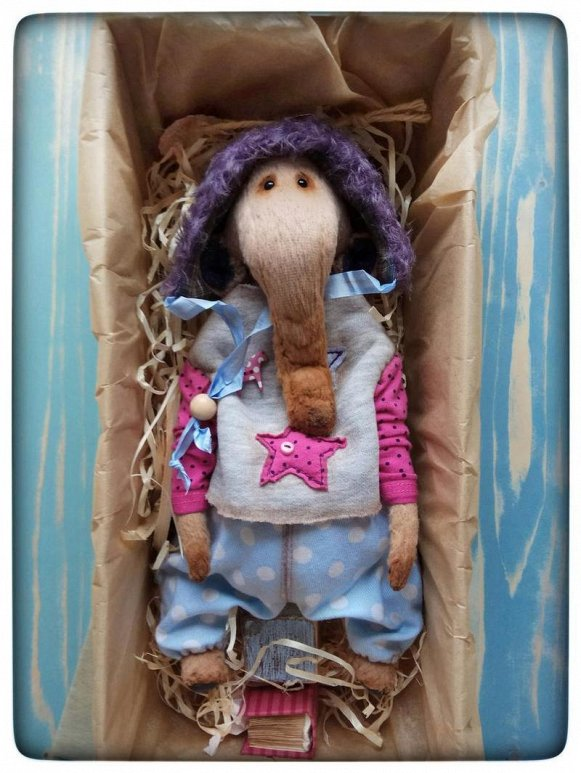 Rus Toy U Molly By Elena Zubrylava | Handmade Teddy Bears On Tedsby