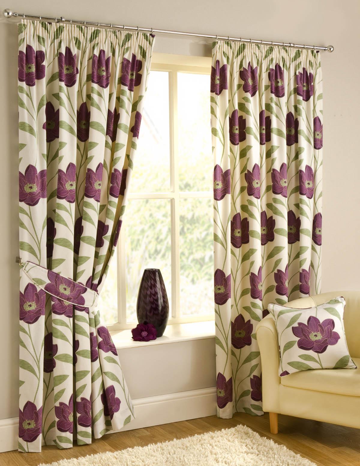 Plum curtains - Download