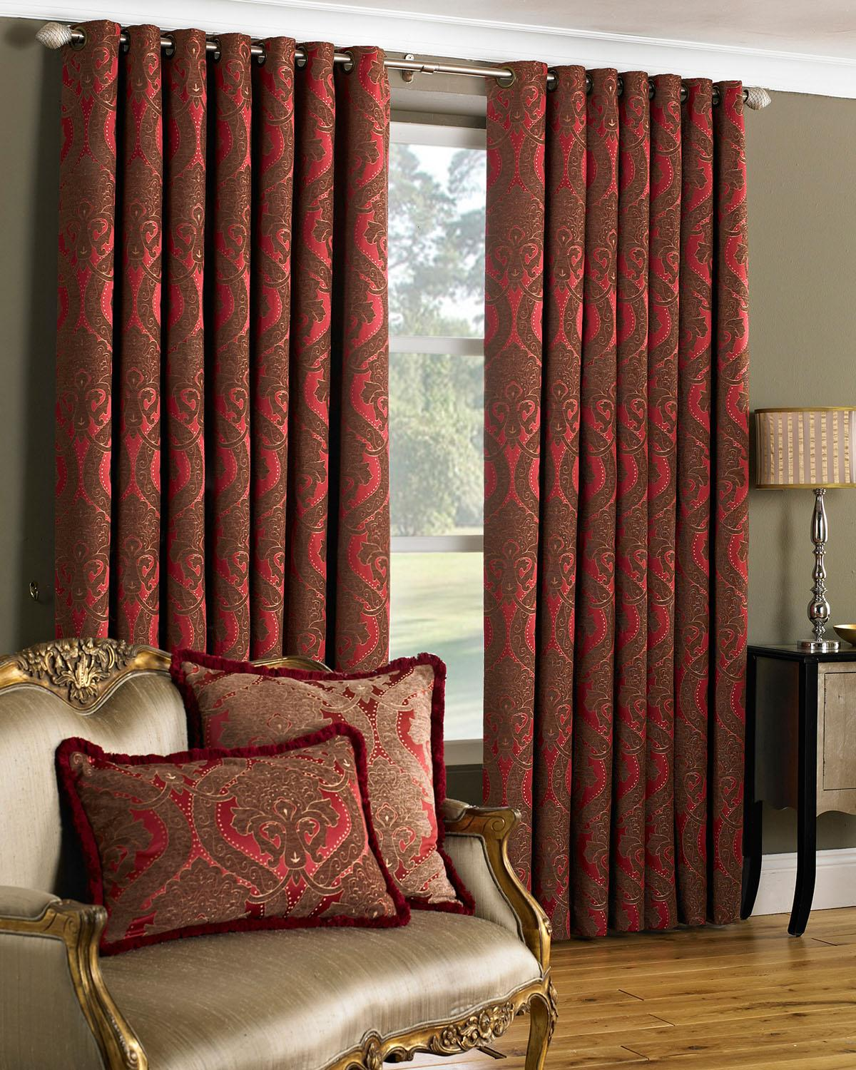 Spotlight Eyelet Curtains Oak Furniture Solutions Sherwood Oak Large Extending