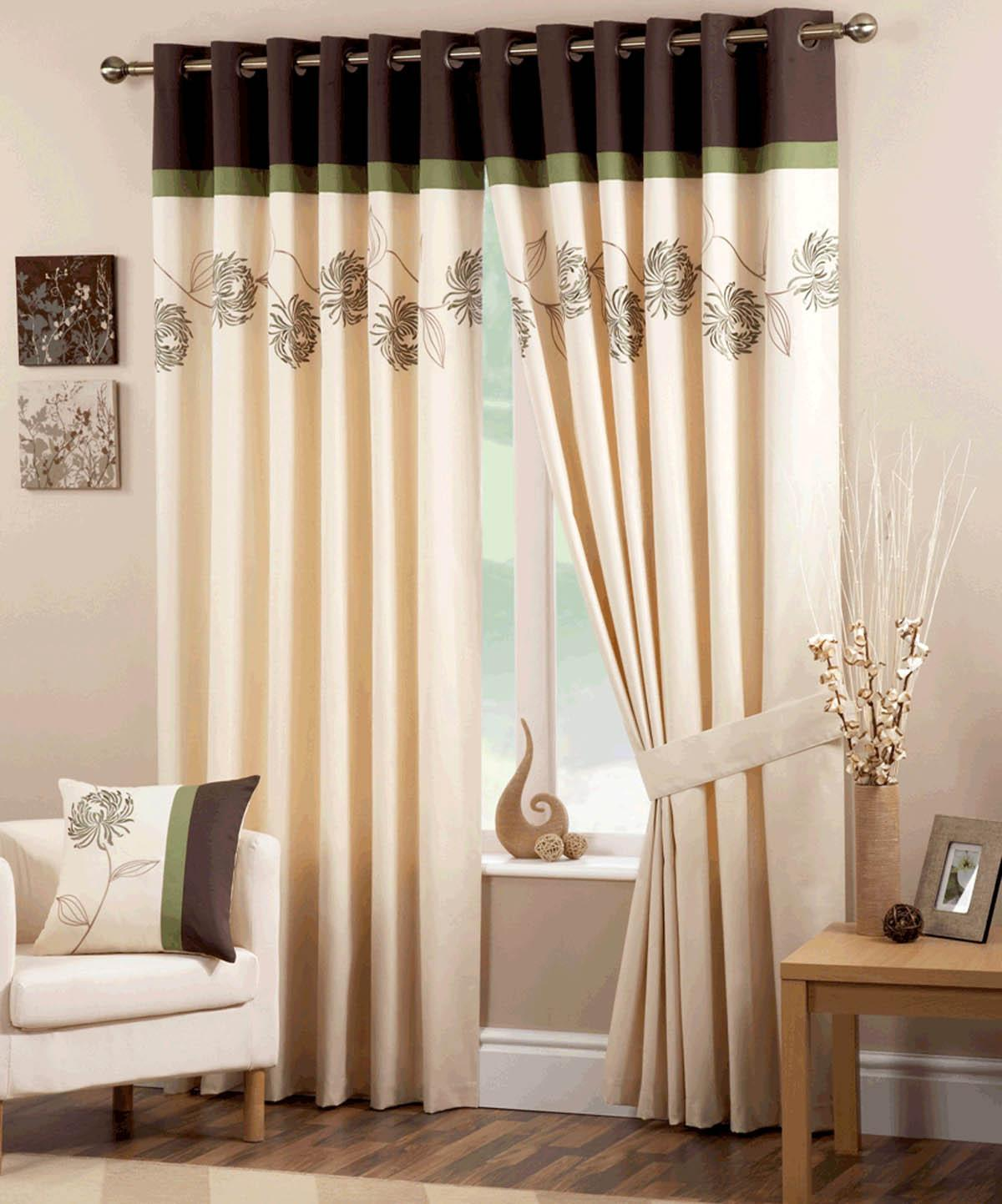 Lincraft Curtain Rods Making Lined Eyelet Curtains Instructions