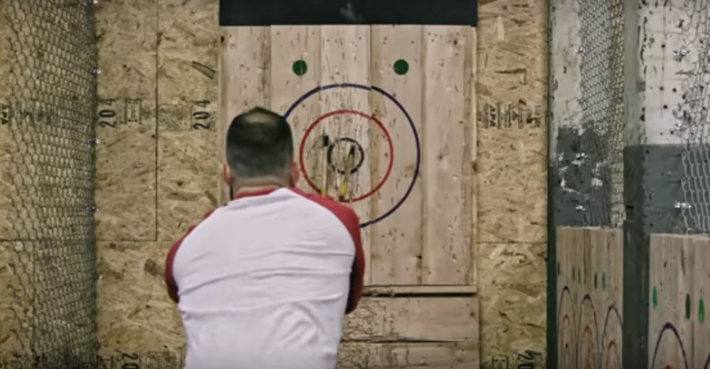 Beurban Axe Throwing While Drinking Beer Is Coming To The Boston Area