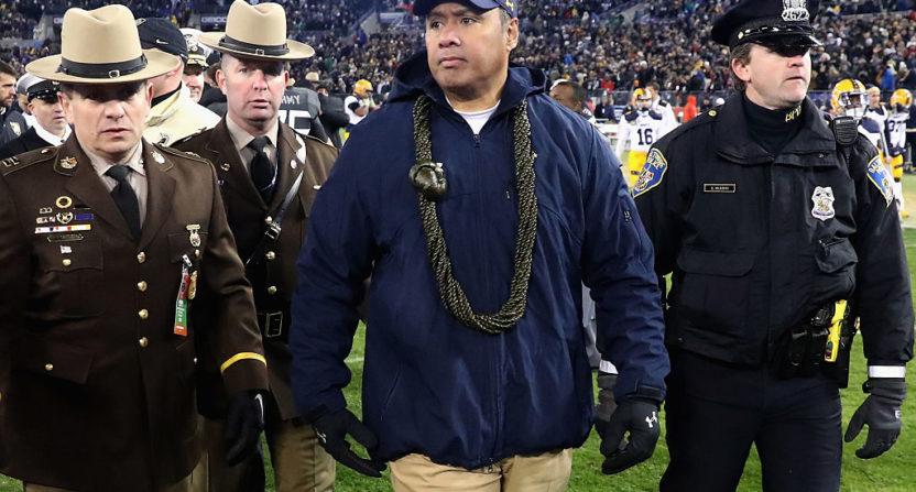 Why Navy\u0027s Ken Niumatalolo goes against college football\u0027s