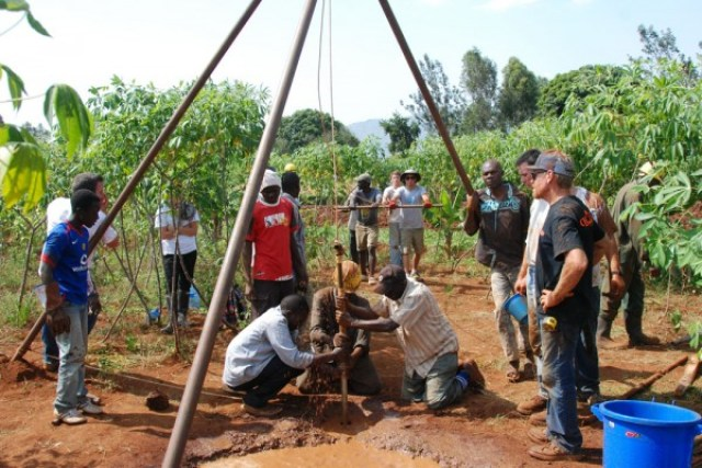 Freewater's Kenya Water Support Project in action.