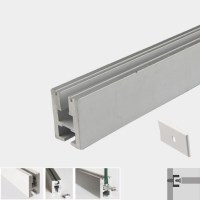 Edge-Lit LED Profile for edge lighting glass or other ...
