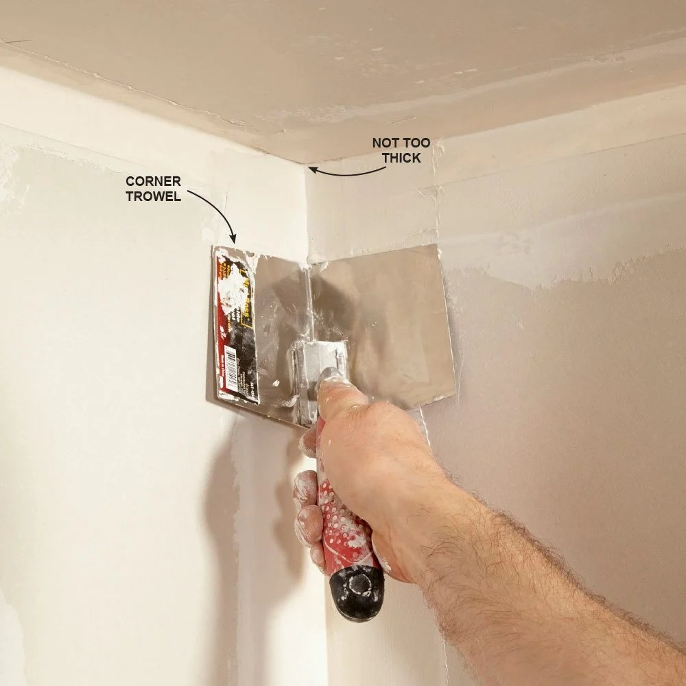 Drywall Paper Tape Create Smooth Walls A Mudslinger S Guide Construction Pro Tips