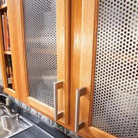 Ideas for the Kitchen: Cabinet Door Inserts | The Family ...