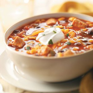 Mexican Chicken Soup Recipe   Taste of Home