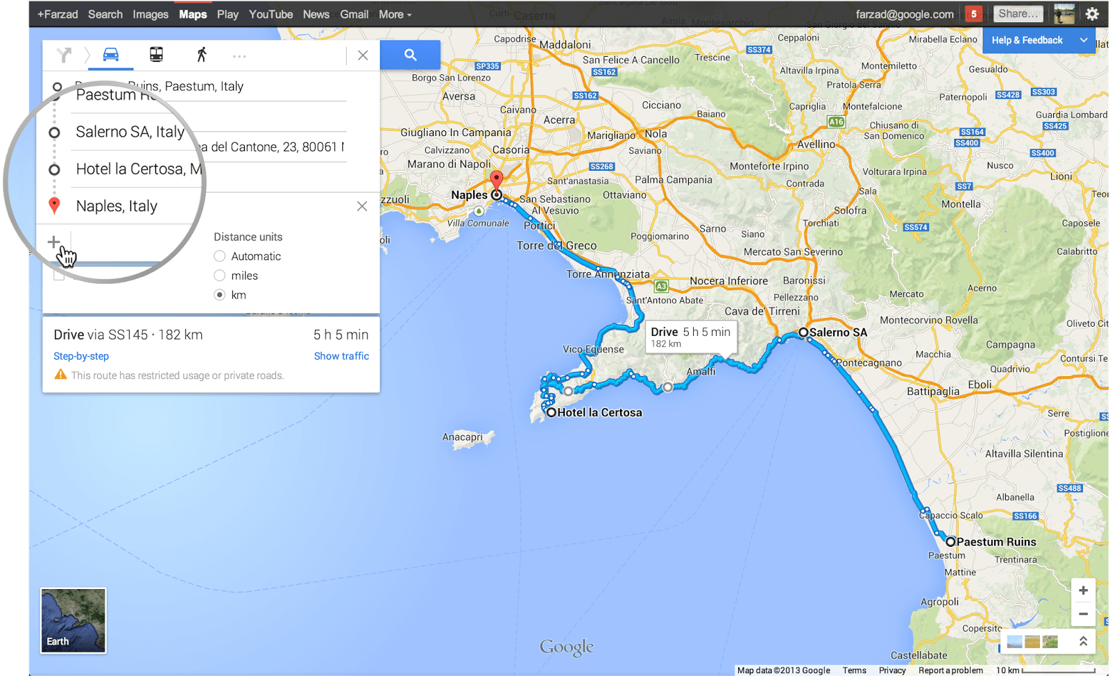 Google updates maps with directions for multiple destinations
