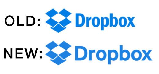 Dropbox Old vs New Logo