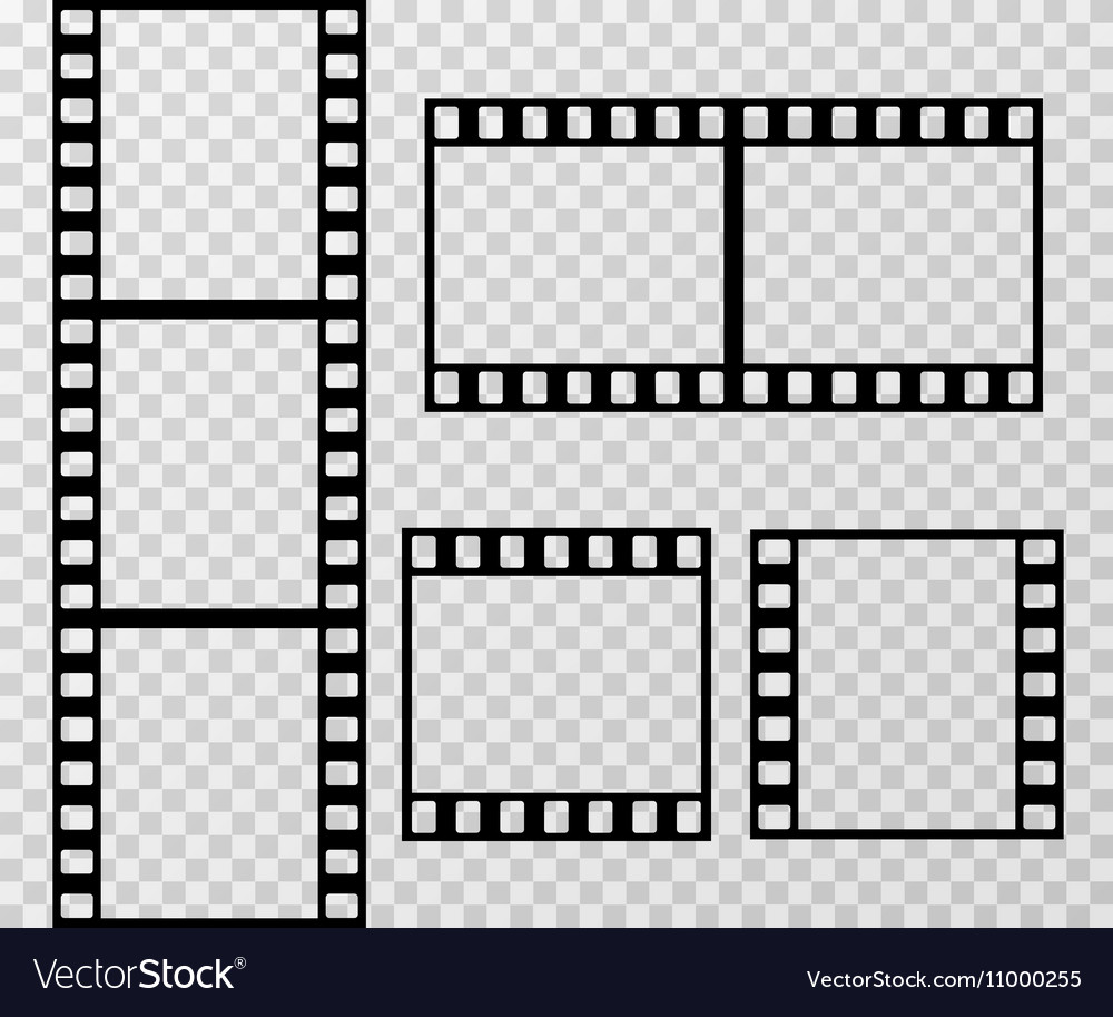 Stunning Film Strip Photo Frame Template Isolated On Vector 11000255 Film Strip Template Pdf Film Strip Template S inspiration Film Strip Template