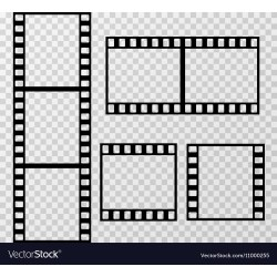 Small Crop Of Film Strip Template