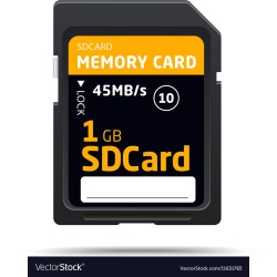 Small Crop Of 1gb Sd Card