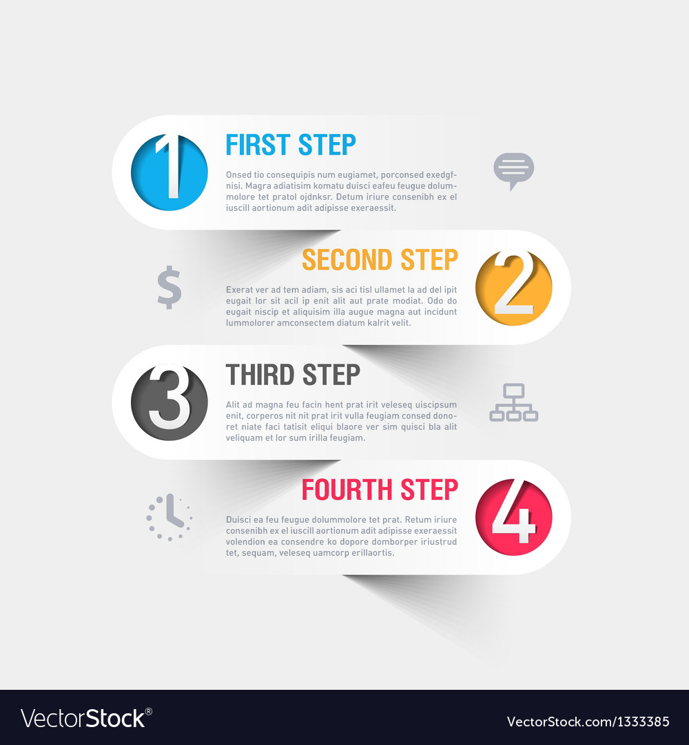 Business Step Business Steps Infographics Template