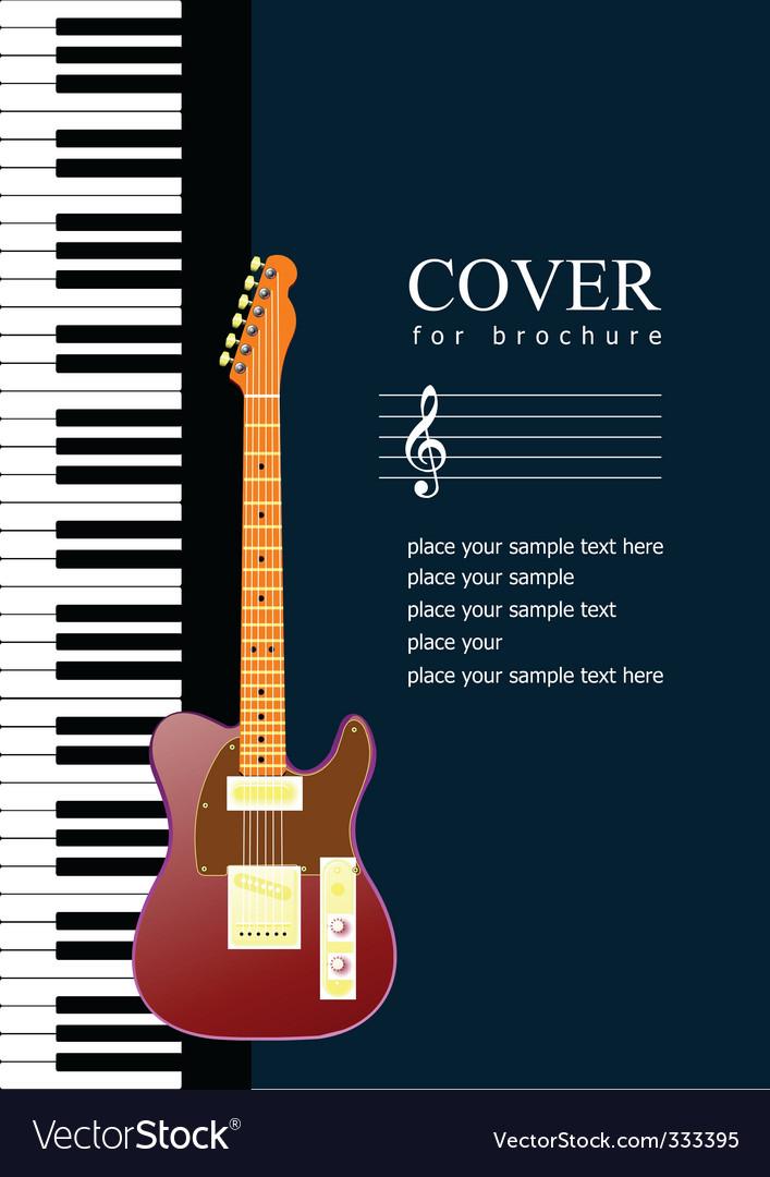 Music poster Royalty Free Vector Image - VectorStock - music brochure
