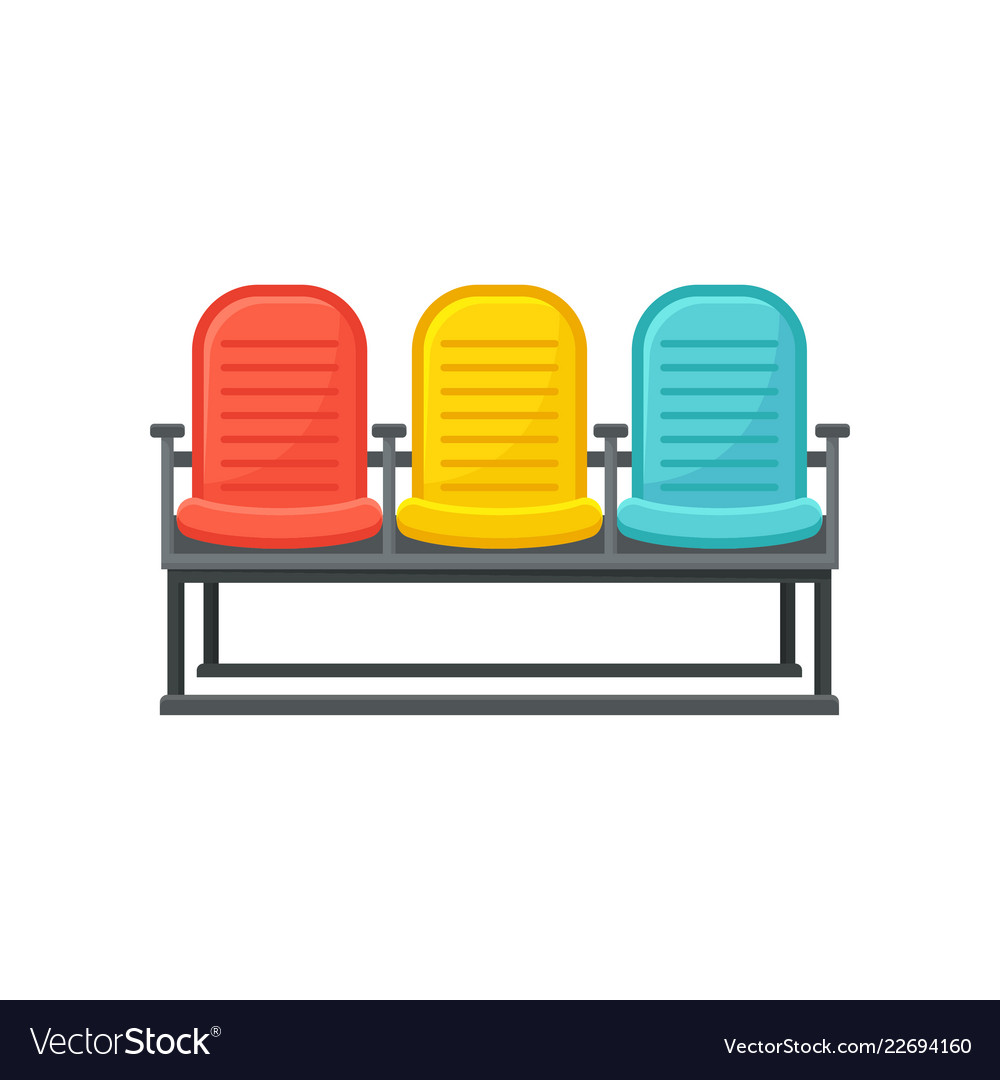 Chairs Comfortable Flat Icon Of Comfortable Chairs For