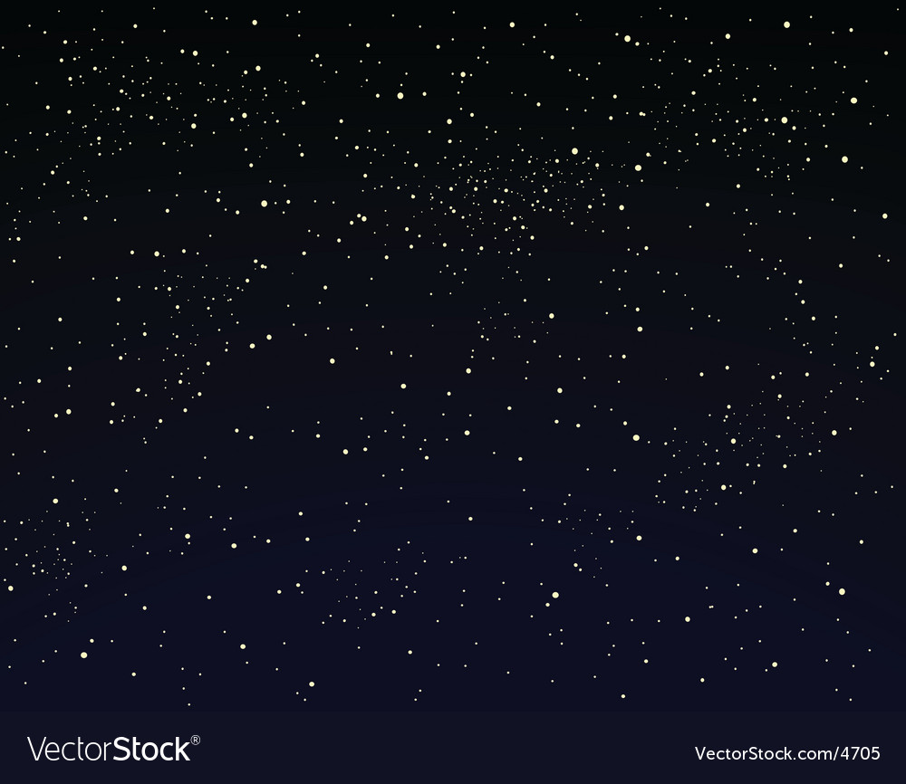 Wallpaper Black Design Starry Sky Royalty Free Vector Image Vectorstock