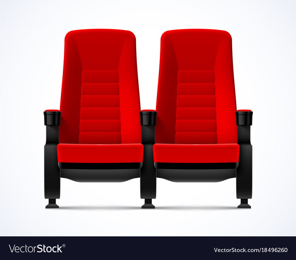 Chairs Comfortable Cinema Movie Theater Red Comfortable Chairs