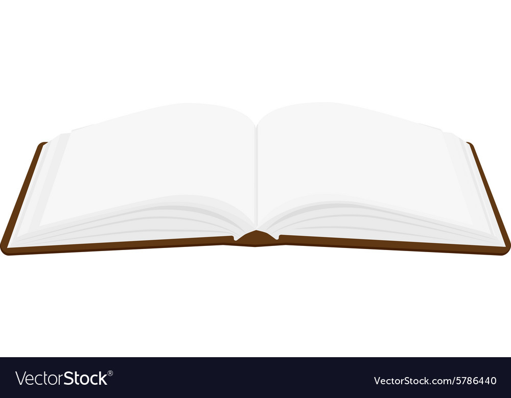 Opened book Royalty Free Vector Image - VectorStock - opened book