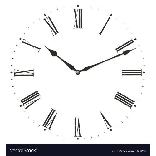 Medium Crop Of Roman Numerals Clock