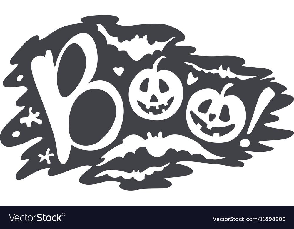 Happy Halloween Calligraphy backgrounds Royalty Free Vector