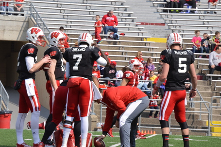 Wisconsin depth chart 2014 A post-spring look at the Badgers