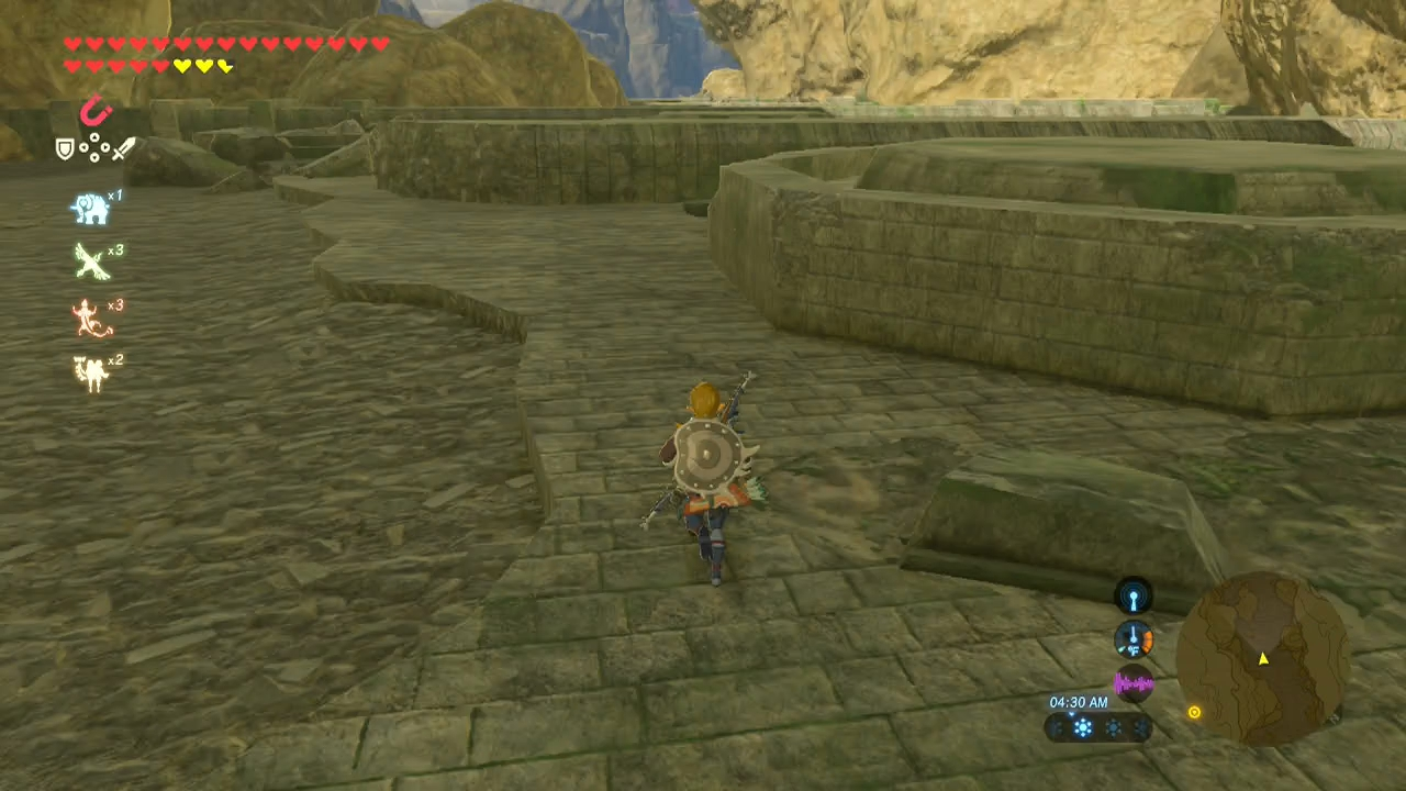 Rona Moving Boxes Breath Of The Wild Guide Rona Kachta Shrine And Forgotten Temple