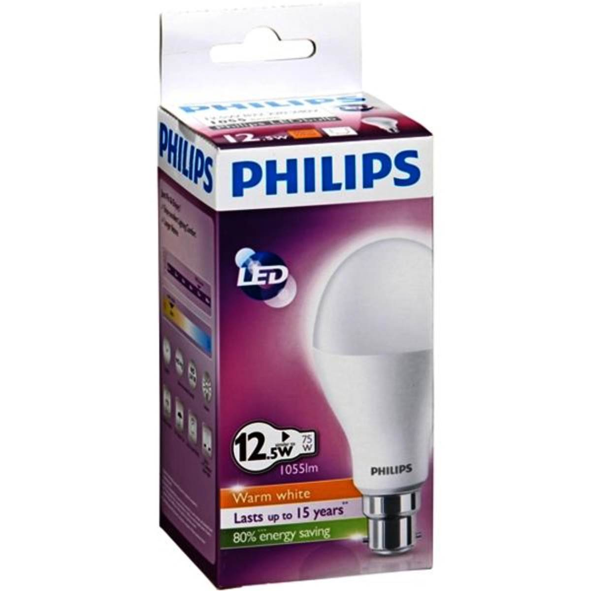 Woolworths Led Globes Philips Light Globe Led Bulb 1055lm B22 Each Woolworths