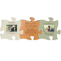 Buy Personalized Puzzle Photo Frame Set of 3, Wedding or ...