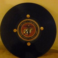 Buy United States Marines Recycled Vinyl Record/CD Clock ...
