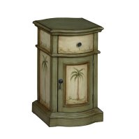 Buy Tropical Green/Cream Accent Chest by Michael Anthony ...