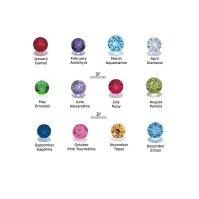 Buy Swarovski Birthstone Earrings by SilverMoonBay on OpenSky