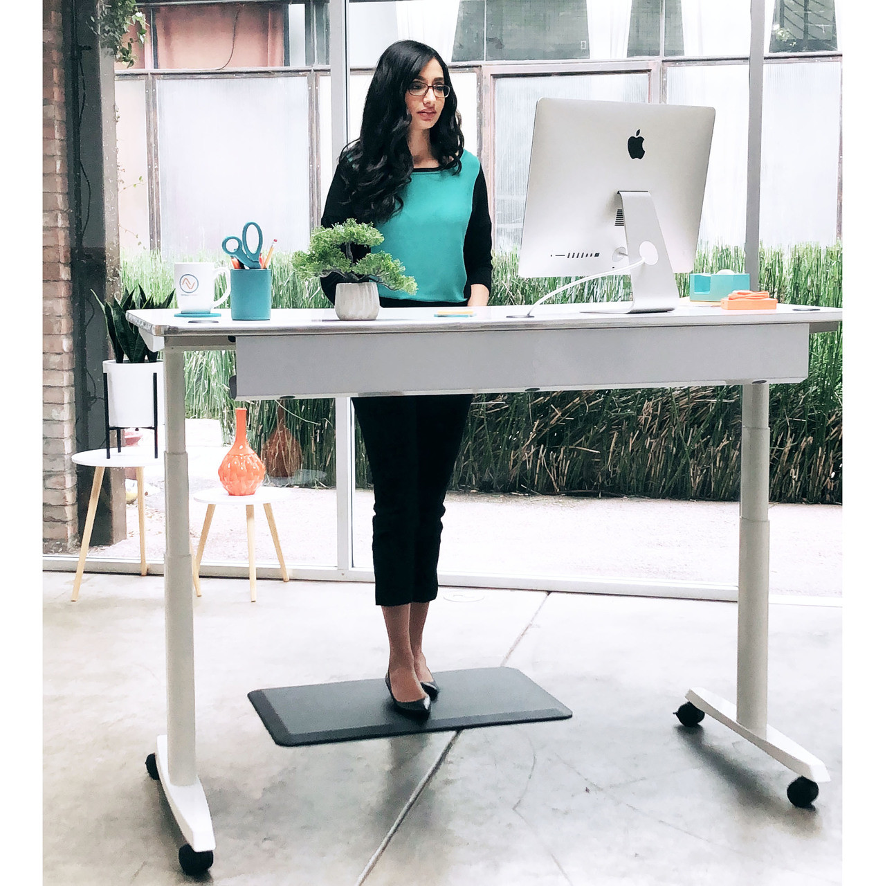 Sit To Stand Desk Power Lift Standing Desk