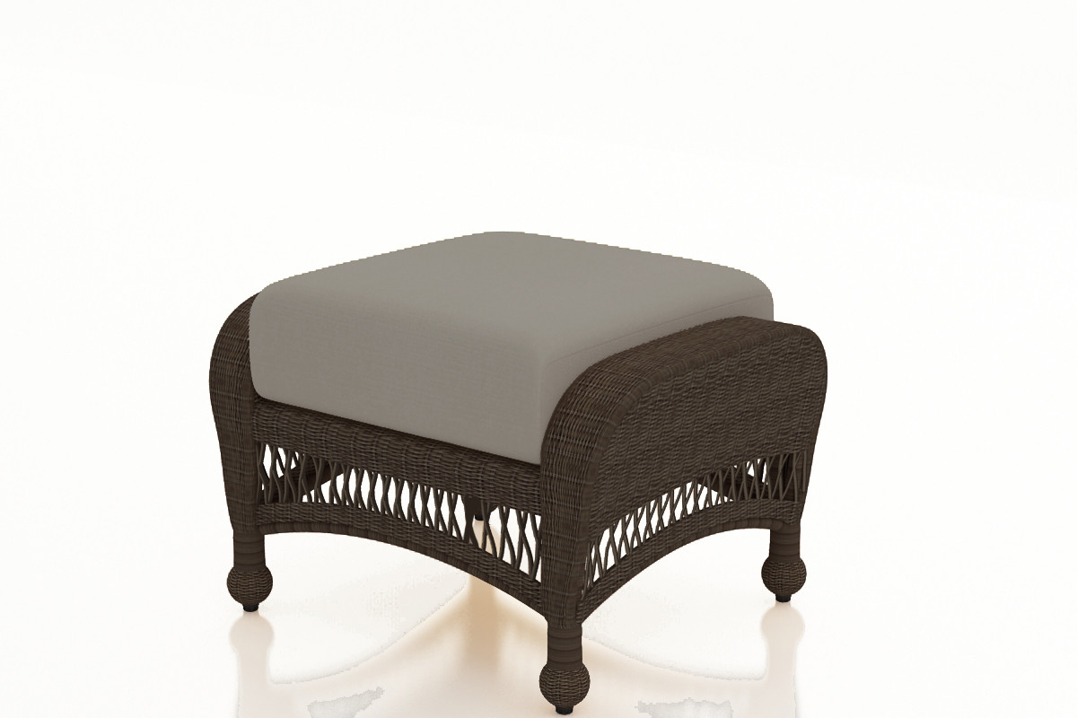 Wicker Ottoman Forever Patio Catalina Wicker Ottoman By Northcape International