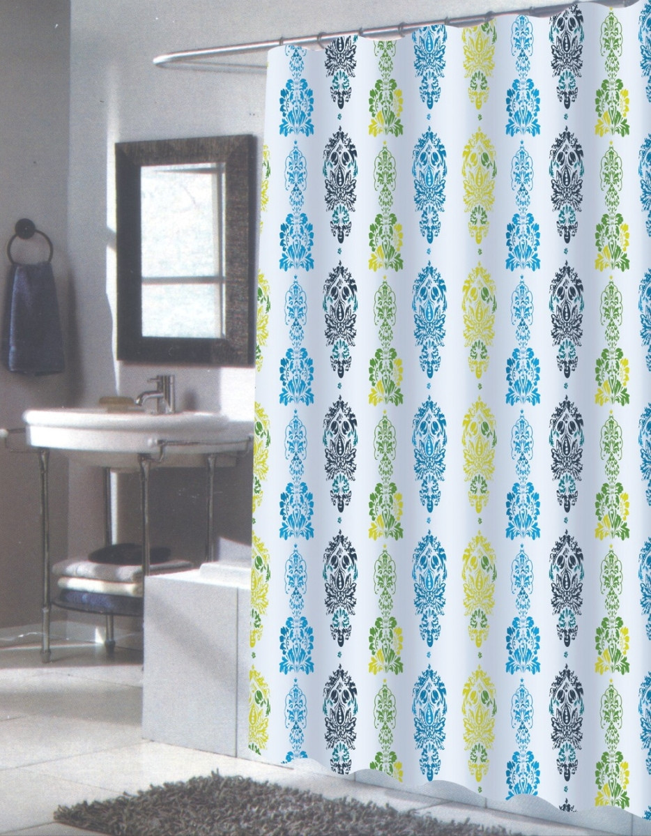 Long Shower Curtain Olivia Extra Long Shower Curtain