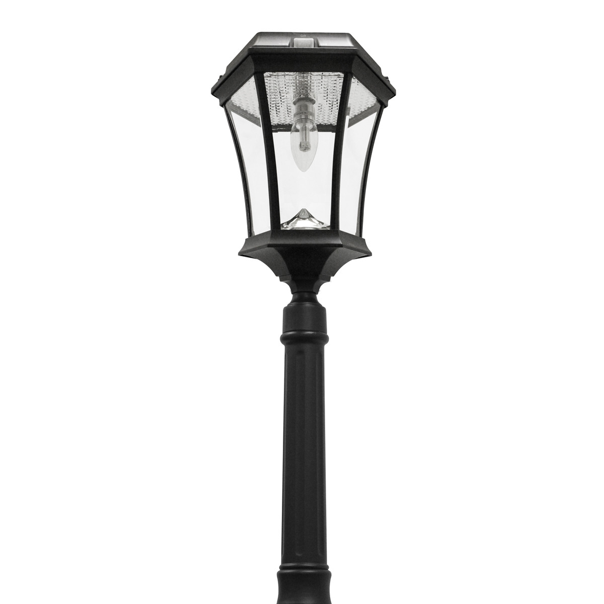 Solar Lamp Post Solar Lamp Post Yard Light Victorian Coach Lantern Solar Bulb