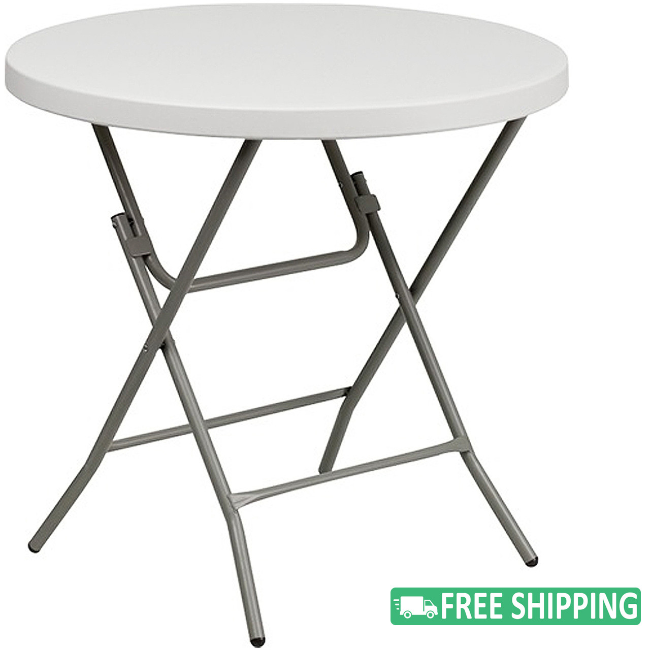 Round Plastic Tables 10 Pack Advantage 32 In Round White Plastic Folding Table Adv 32rlz White 10