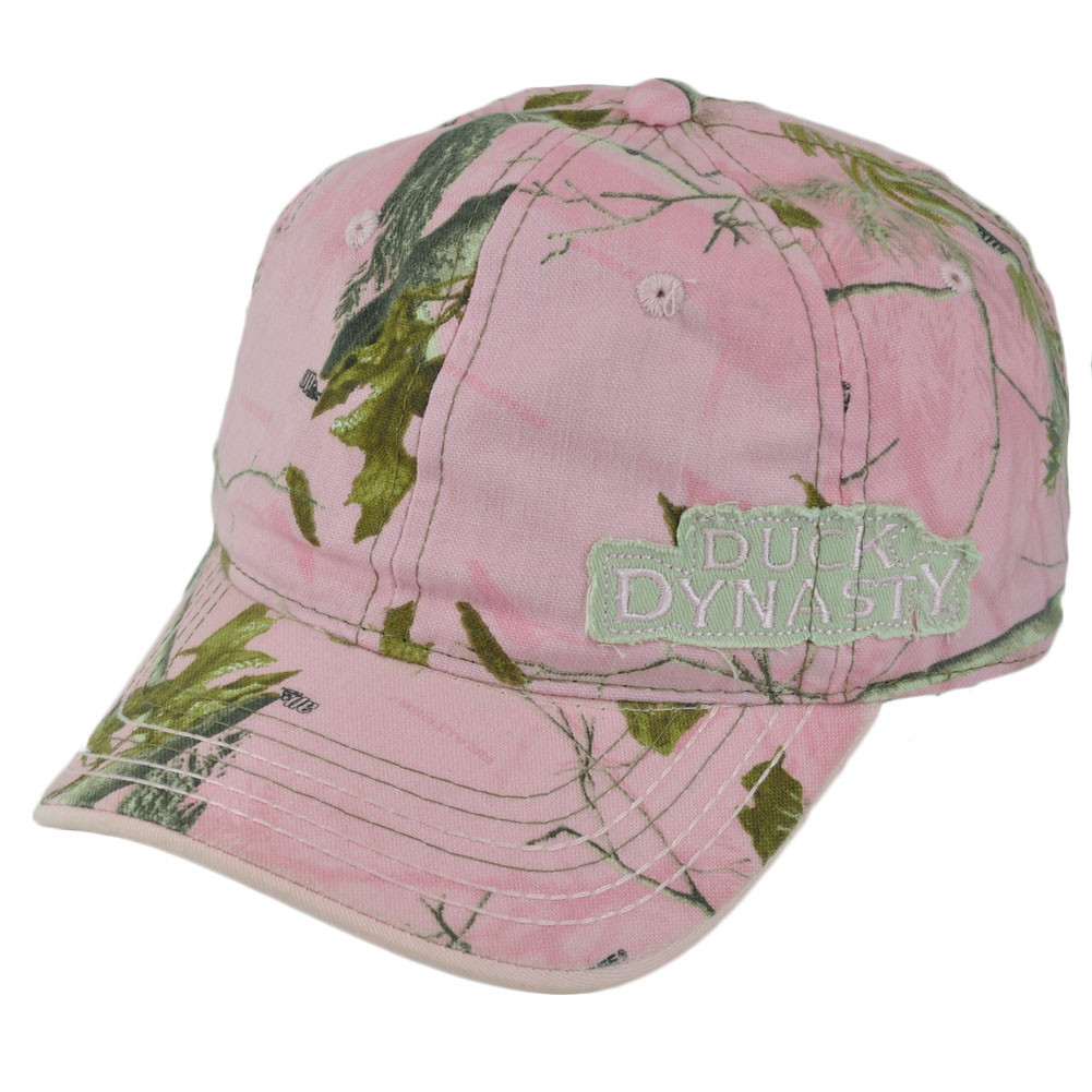 Pink Tv Online Duck Dynasty A E Tv Series Realtree Ladies Women Pink Tree Garment Wash Hat Cap