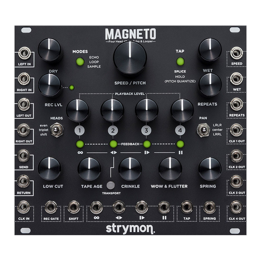 Audio Echo Strymon Magneto Four Head Dtape Echo Looper In Stock Call 973 949 3199 To Order