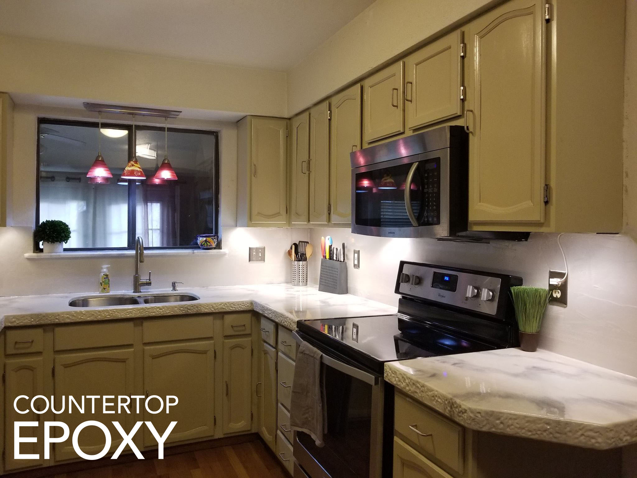 Countertop Epoxy Com 11 Diy Ideas To Update Your Ugly Rental Kitchen Counter