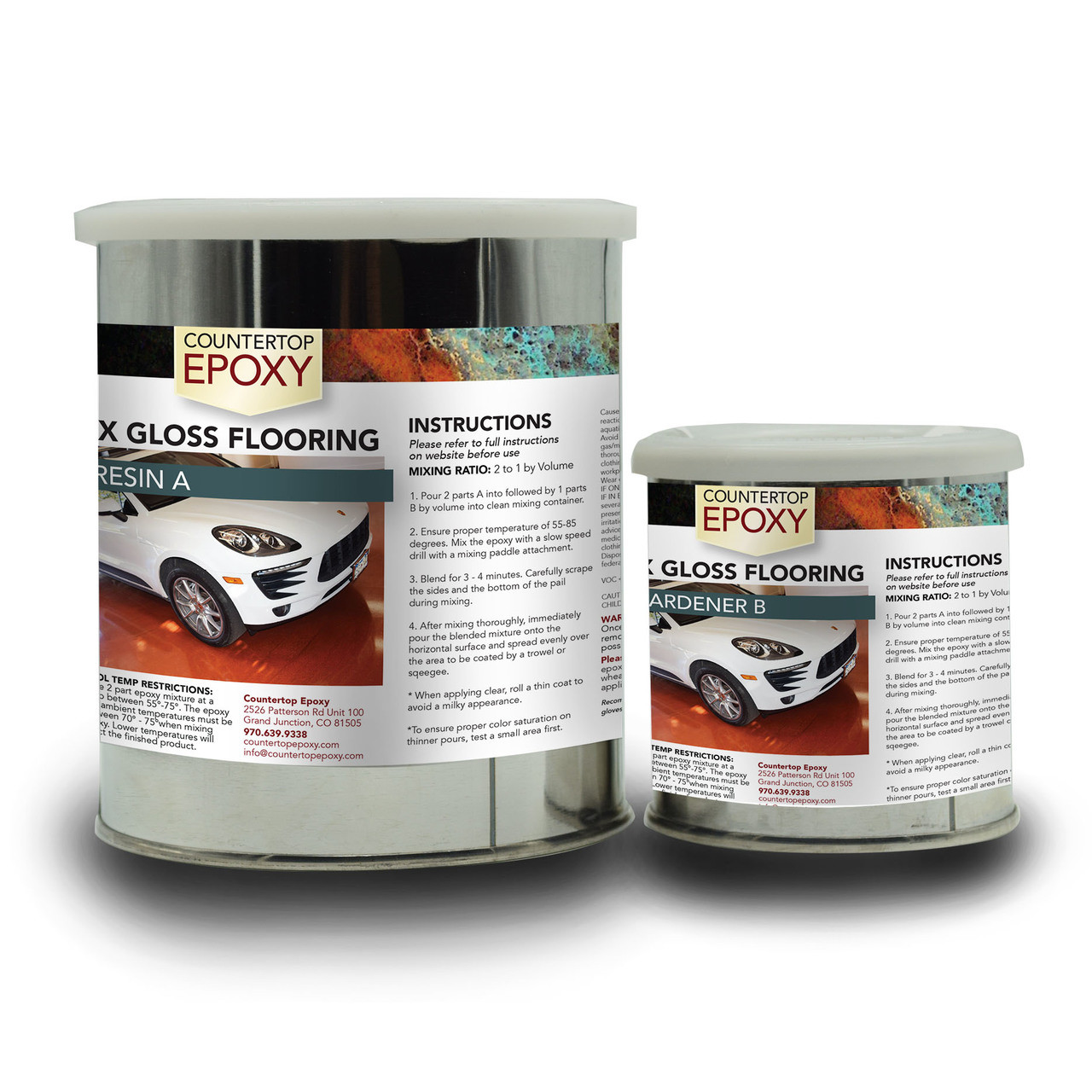Garage Floor Epoxy Grand Junction Fx Gloss Flooring Epoxy