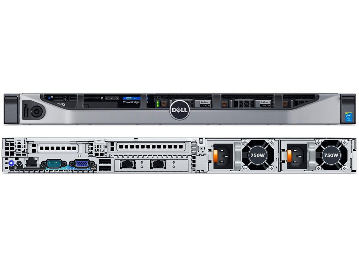Refurbished Dell Poweredge R630 Ddr4 1u Rack Server
