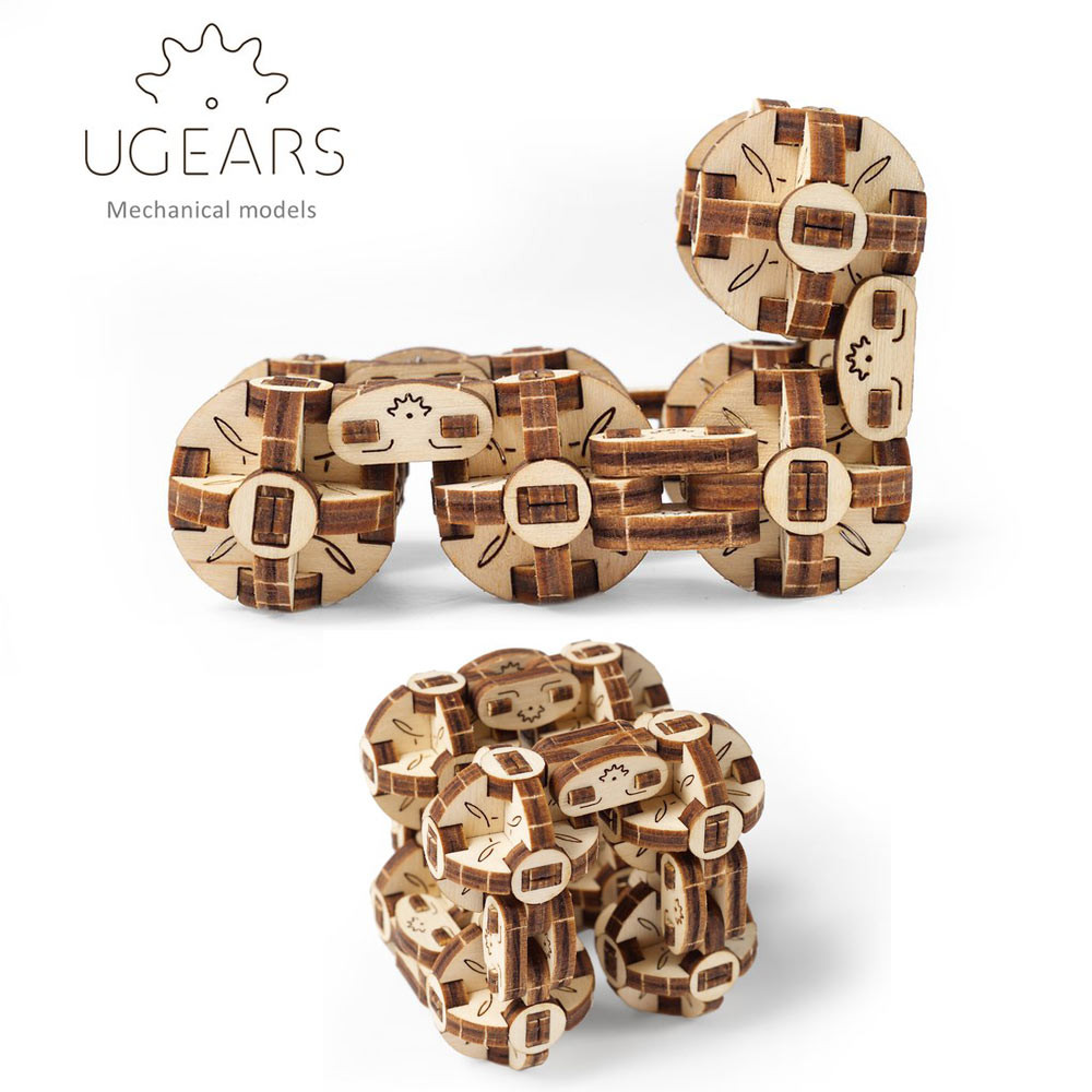 Cubus Online Shop Ugears Model Flexi Cubus Mechanical Wooden Model Kit 70049