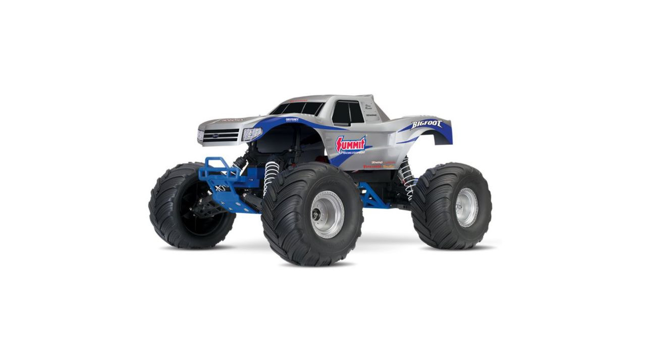 Rtr Rc Trucks Electric Traxxas 1 10 Bigfoot Rtr W Tq 2wd Xl 5 Esc Rc Monster Truck